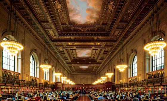 De vijf mooiste bibliotheken ter wereld chicklit - Bibliotheek van de wereld ...
