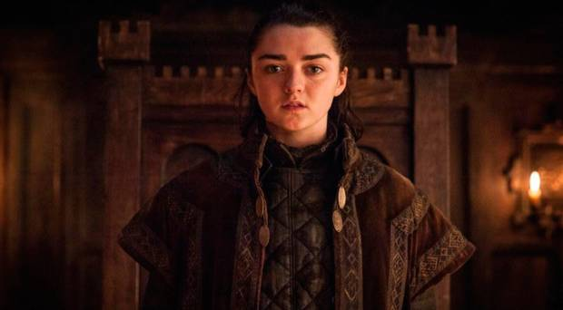 Maisie Williams neemt afscheid van Game of Thrones