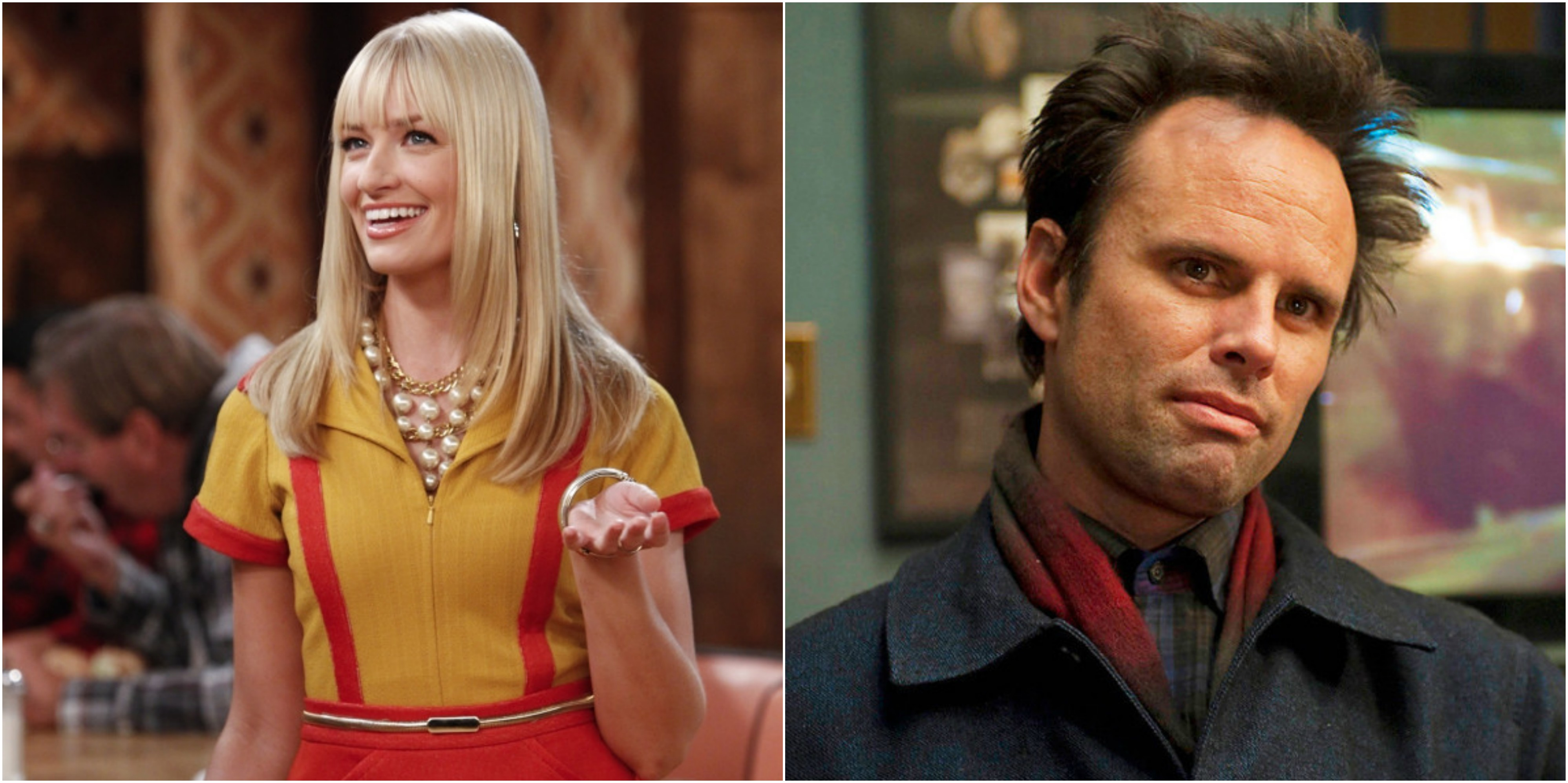 Beth Behrs En Walton Goggins Te Zien In Gastrollen In The Big Bang