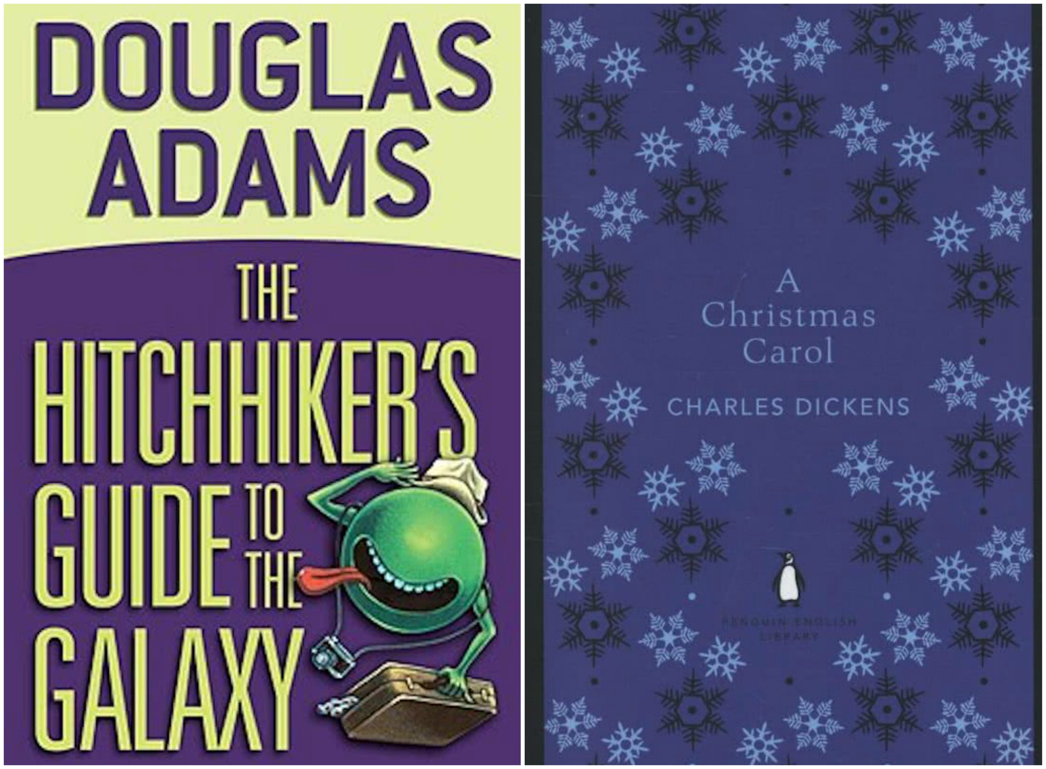 The Hitchhiker's guide & A Christmas Carol