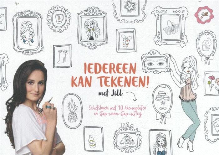 Onwijs Recensie: Iedereen kan tekeningen met Jill - Chicklit YZ-75