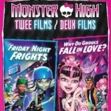 Monster High: Friday Night Frights/Why Do Ghouls Fall In Love (DVD)