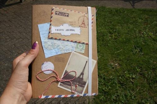 Do it yourself travel journal chicklit je kunt wat fotos bewaren en thats it maar veel leuker is het om je eigen travel journal solutioingenieria Images